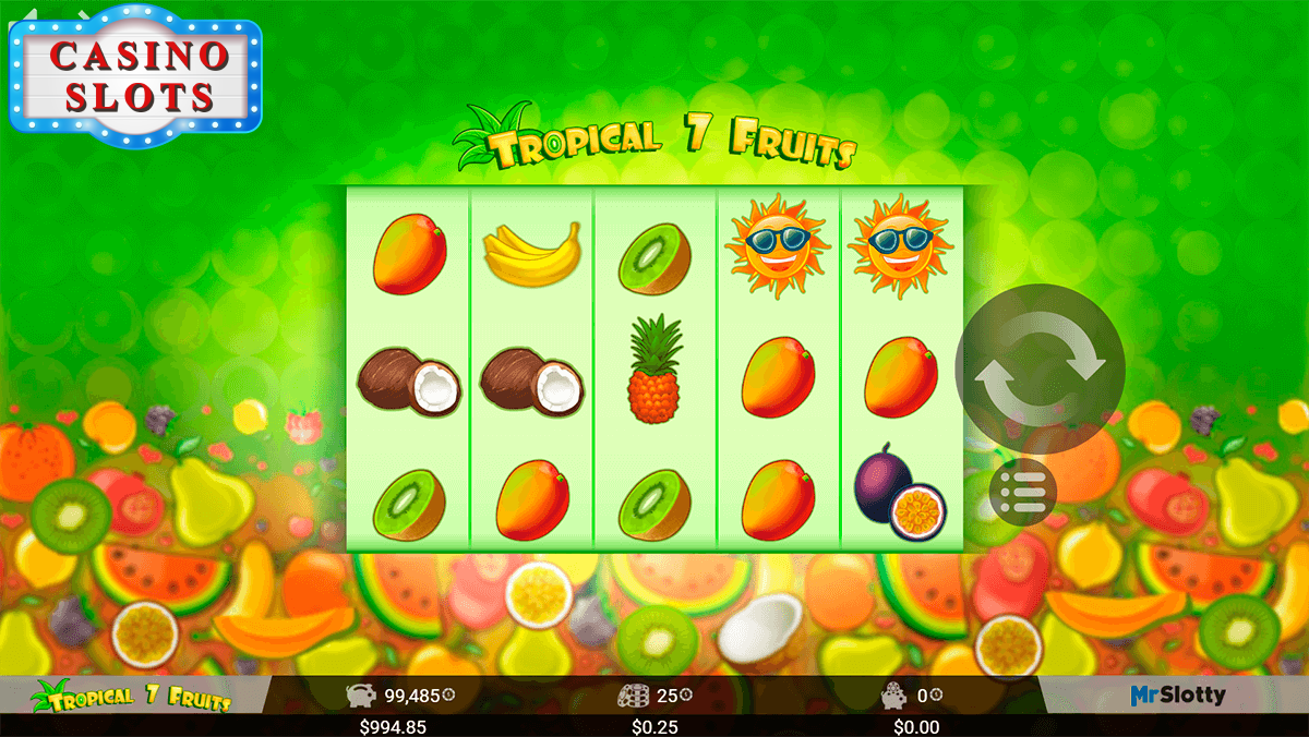 Tropical 7 Fruits Online Slot