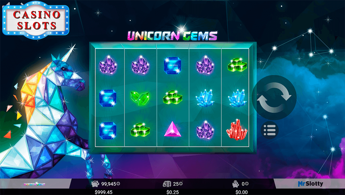 Unicorn Gems Online Slot