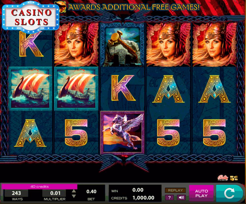 Valkyrie Queen Online Slot