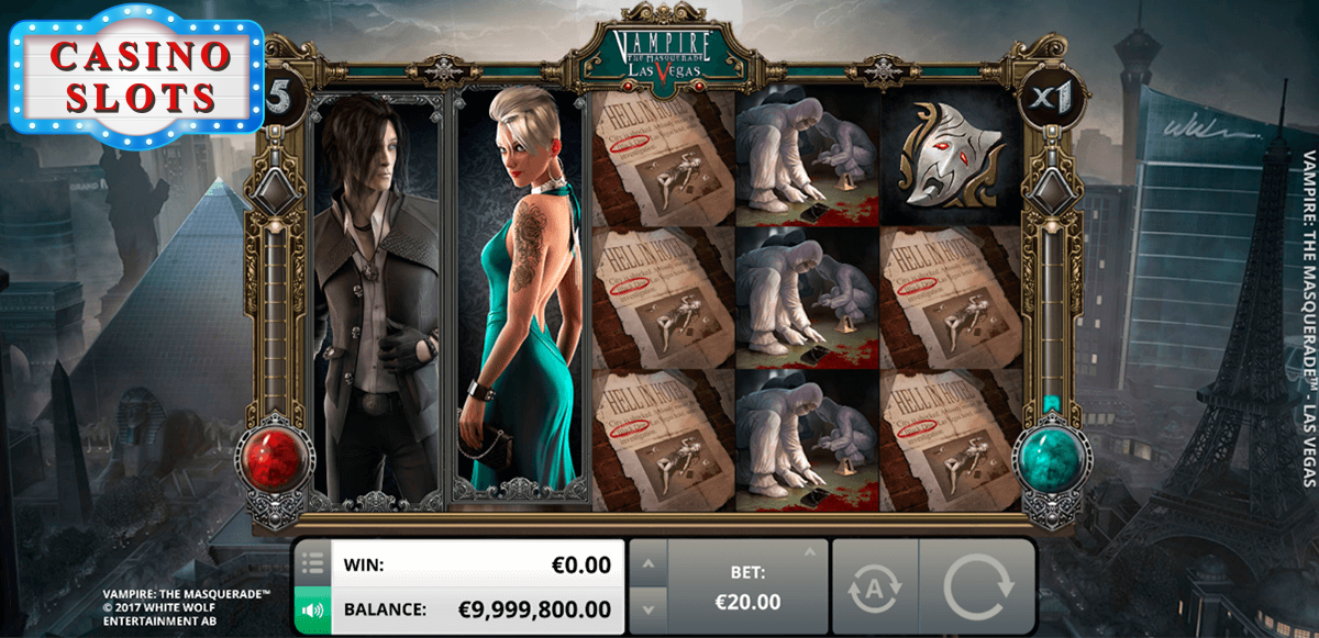 Vampire: The Masquerade Online Slot