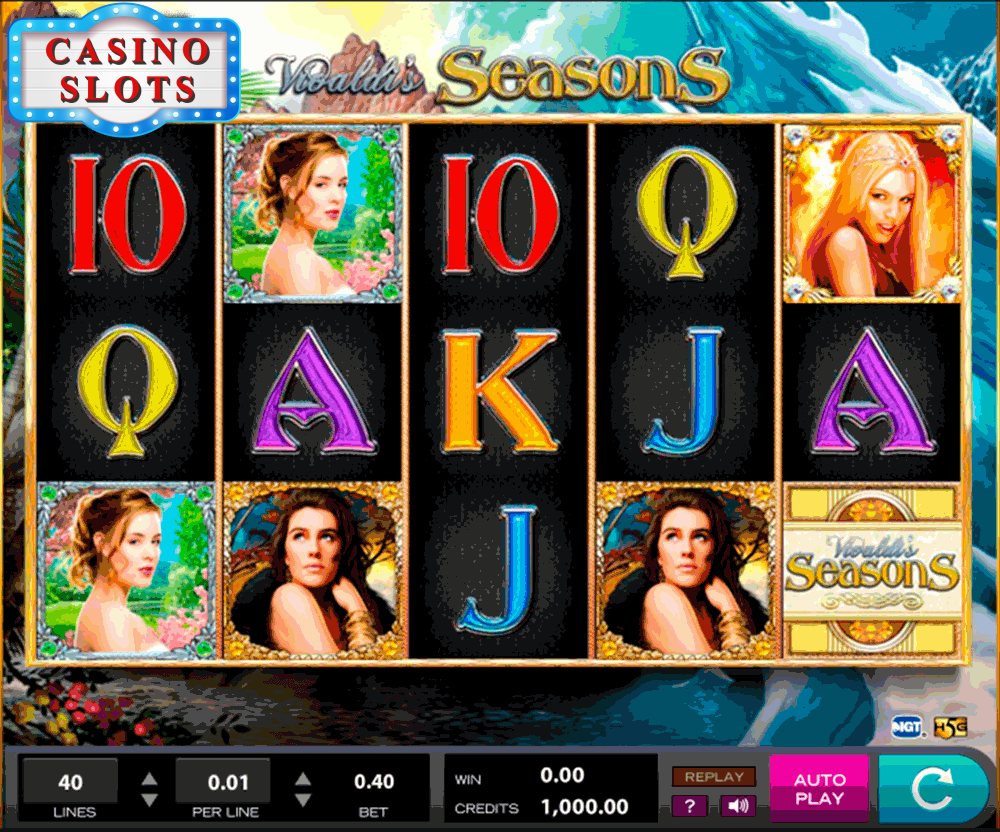 Vivaldi's Seasons Online Slot