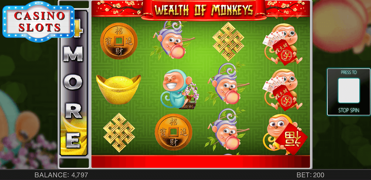 Wealth Of Monkeys Online Slot