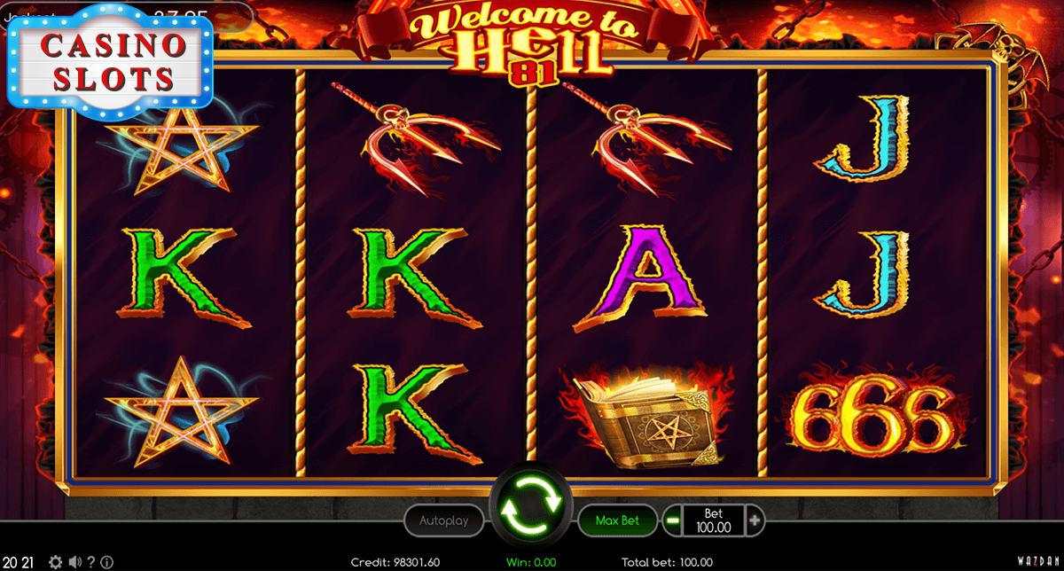 Welcome To Hell 81 Online Slot