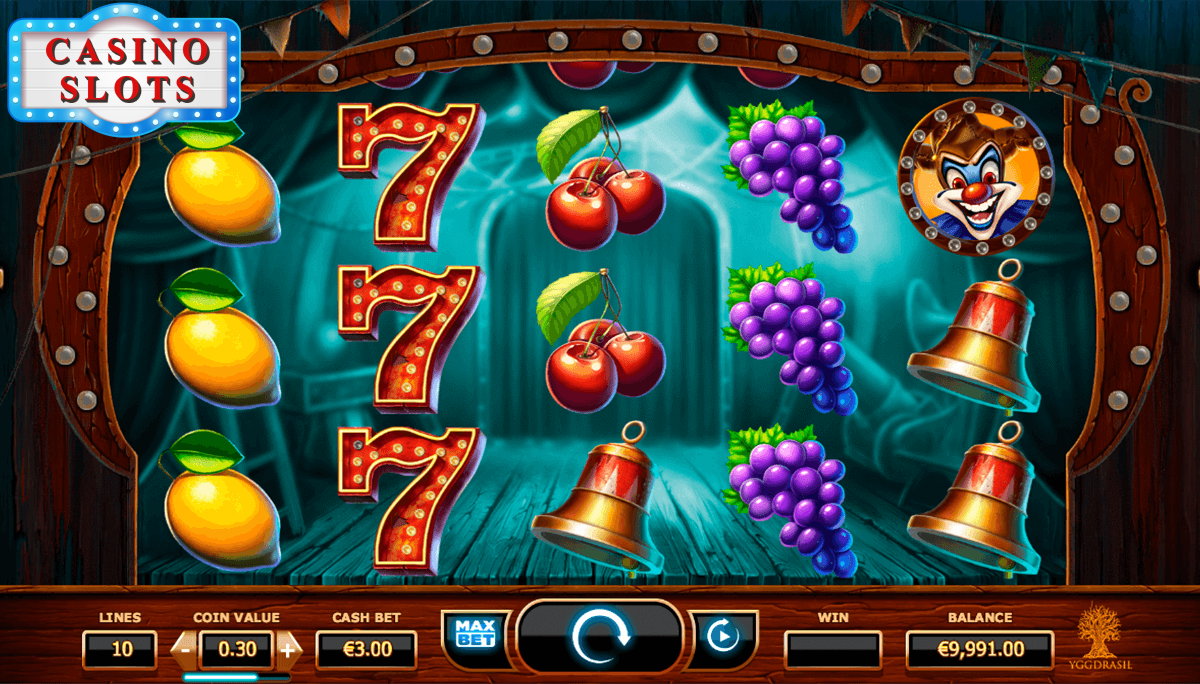 Wicked Circus Online Slot