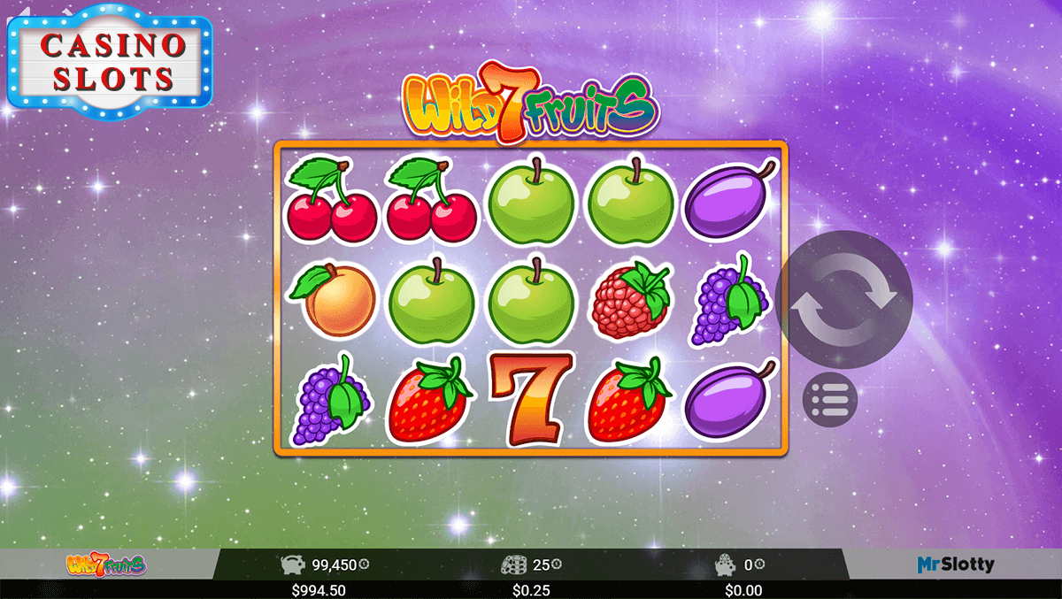 Wild 7 Fruits Online Slot