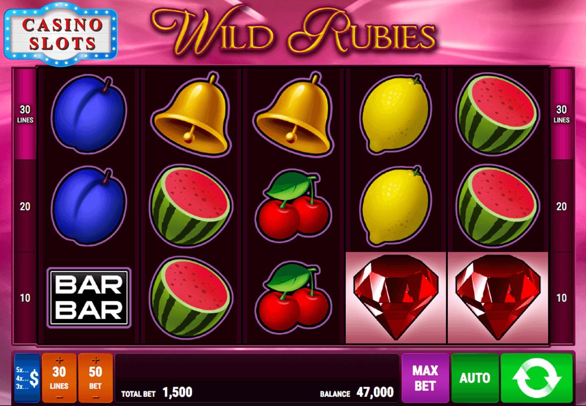 Wild Rubies Online Slot