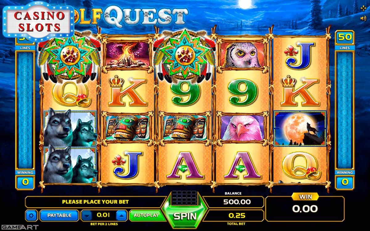 Wolf Quest Online Slot