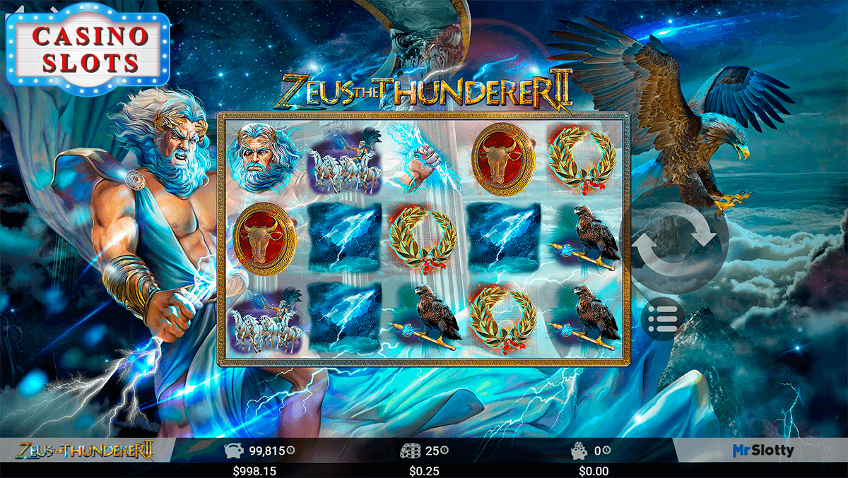 Zeus the Thunderer II Online Slot