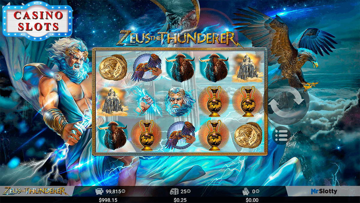 Zeus the Thunderer Online Slot